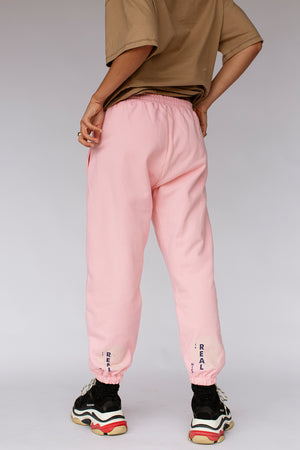 KHALO TRACKPANTS - LOLLY PINK