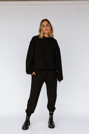 LAYLA JUMPER - BLACK