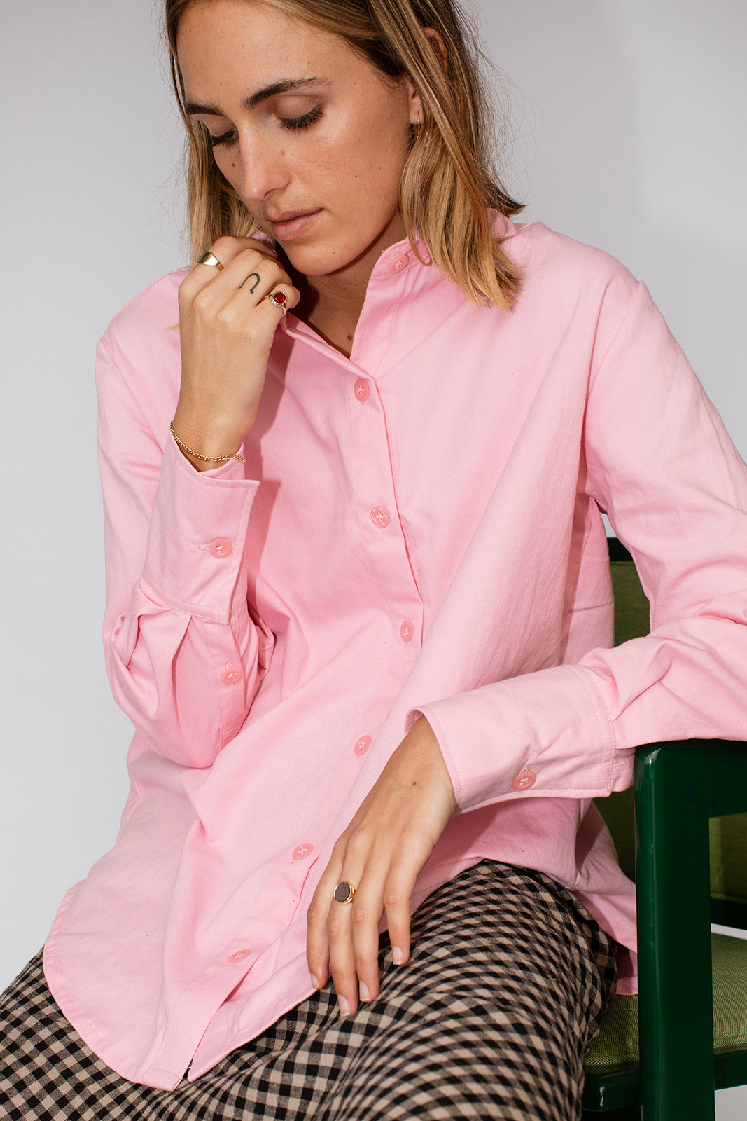 JULIETTE SHIRT - LOLLY PINK