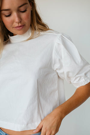 LUCIEN TOP - OFF WHITE