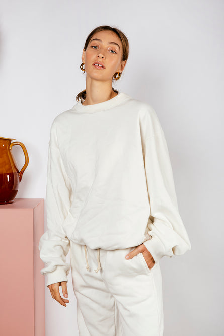 LAYLA JUMPER - OFF WHITE