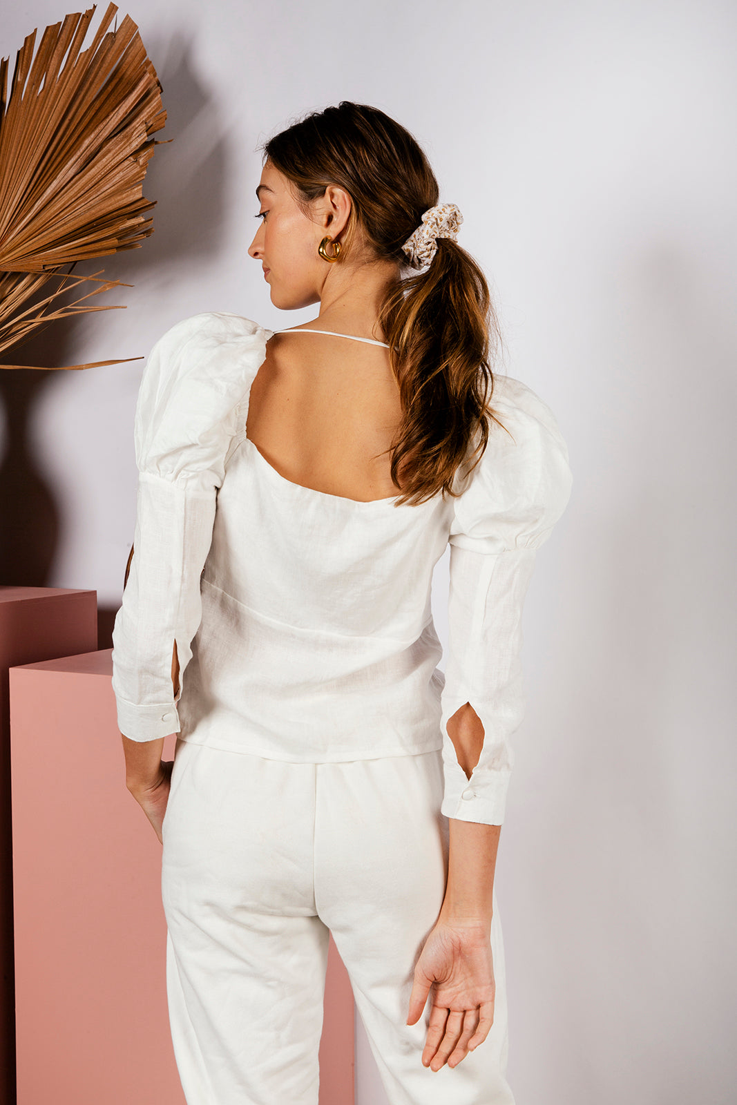 LOGAN BLOUSE - OFF WHITE