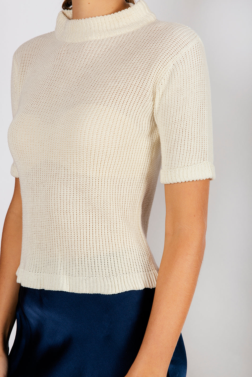 PITERA KNIT TEE - OFF WHITE