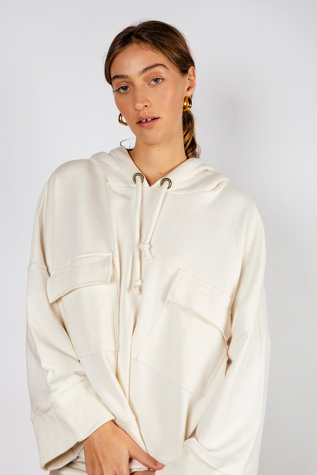 CAMPBELL JUMPER - OFF WHITE