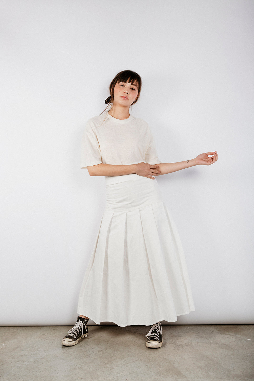 PALMER SKIRT - OFF WHITE