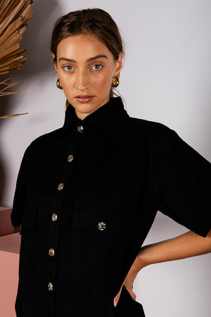 ENSLEY SHIRT - BLACK