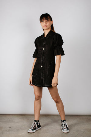LENNIE DRESS - BLACK