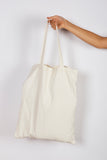B8 CREAM CORD TOTE BAG