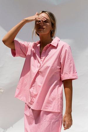 BIANCO SHIRT - LOLLY PINK