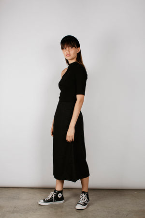 RUSI SKIRT - BLACK