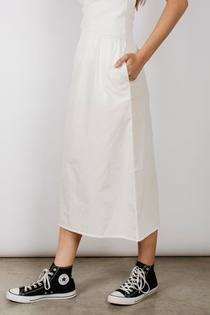RUSI SKIRT - WHITE