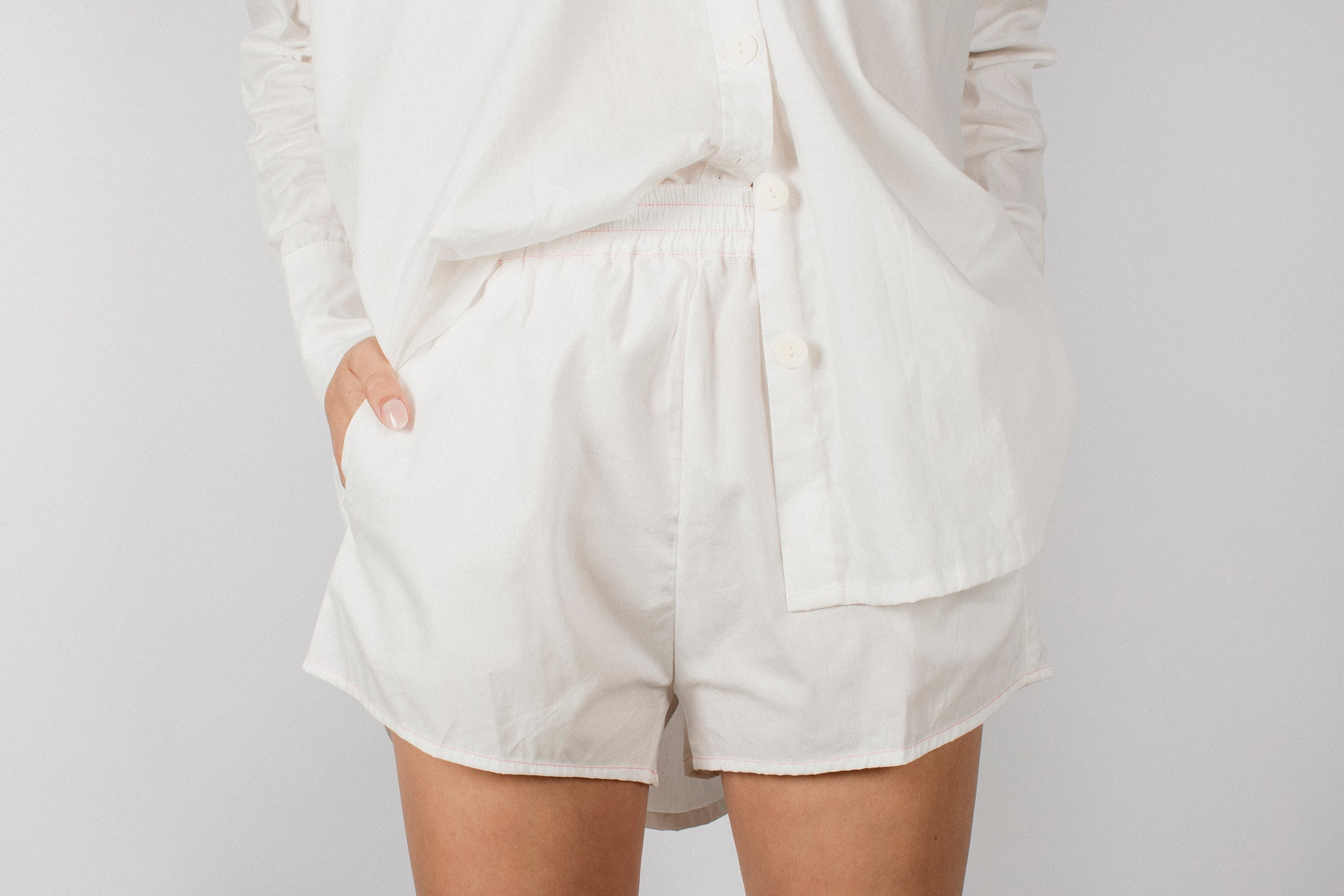 GEORGIA SHORT - WHITE