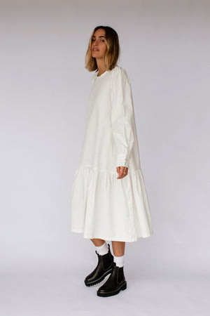 CHESTER DRESS - OFF WHITE