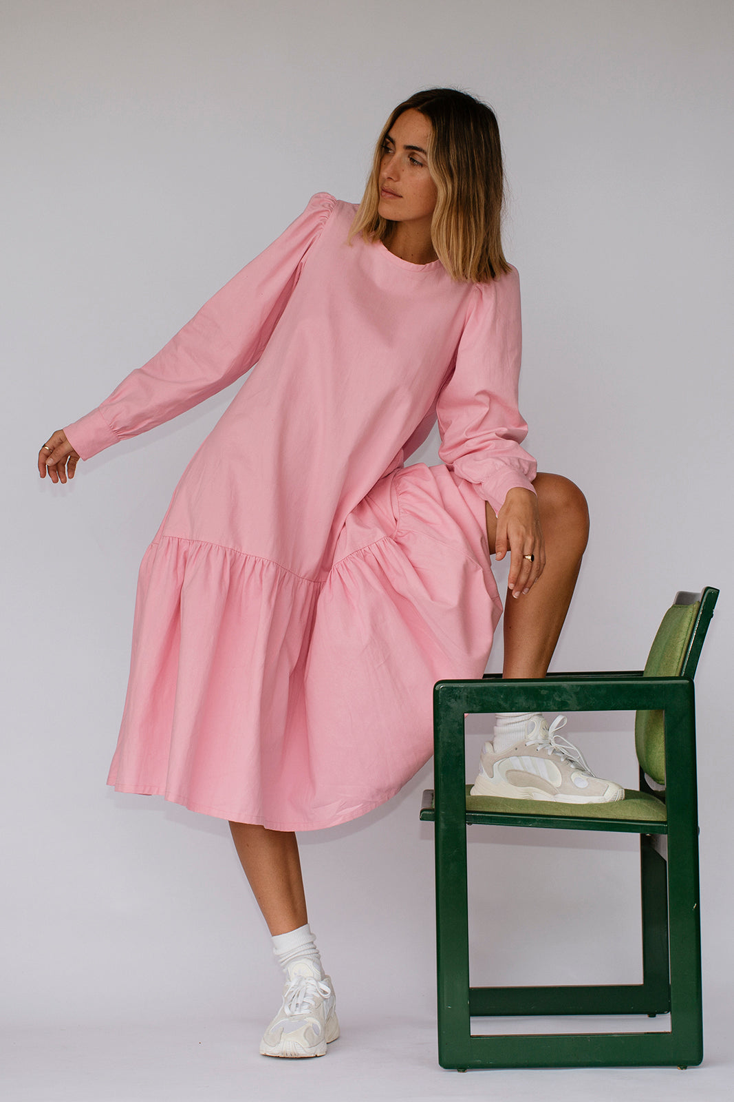 CHESTER DRESS - LOLLY PINK
