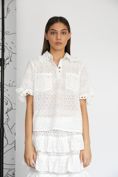 B6 EMBROIDERY SHIRT