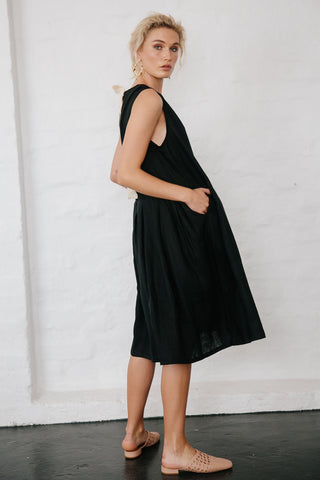 KENNY DRESS - BLACK