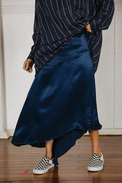 JOHNSON SKIRT - NAVY