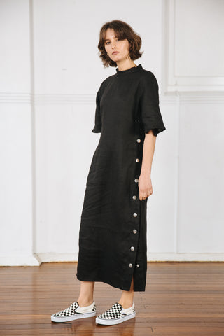RYAN DRESS 2.0 - BLACK