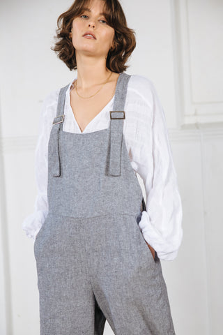 RAVEN JUMPSUIT - DENIM CHAMBRAY