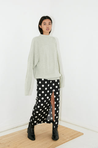 WHITELY KNIT JUMPER - STONE