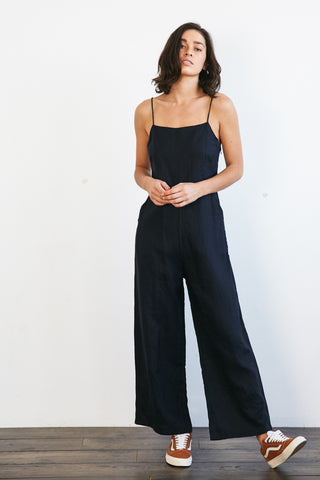 CECELY JUMPSUIT - NAVY