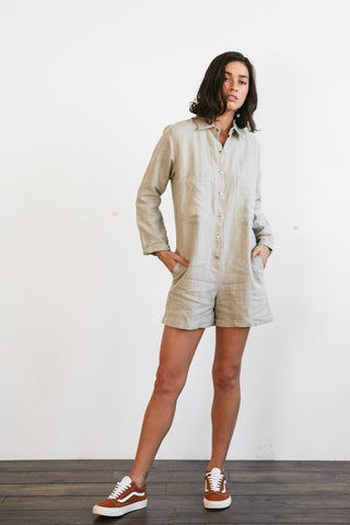 PENNY ROMPER - NATURAL