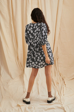 Spencer dress - Daisy print