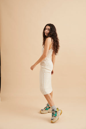 Jemmi Knit Dress - Cream