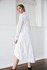 DENI SHIRT DRESS - WHITE
