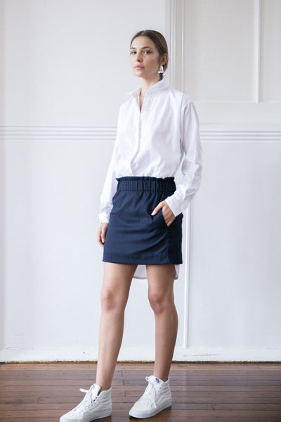 JAYDEN SKIRT - NAVY