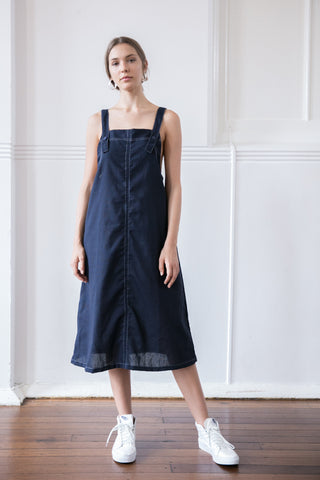 MARTHA PINAFORE - NAVY