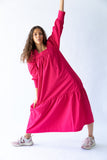 TAO DRESS - FUCHSIA PINK