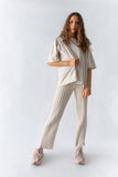 YEN KNIT PANT - OFF WHITE