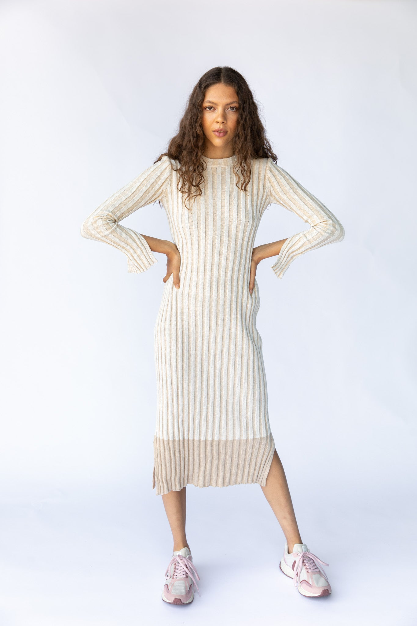 Khan knit dress - Off white