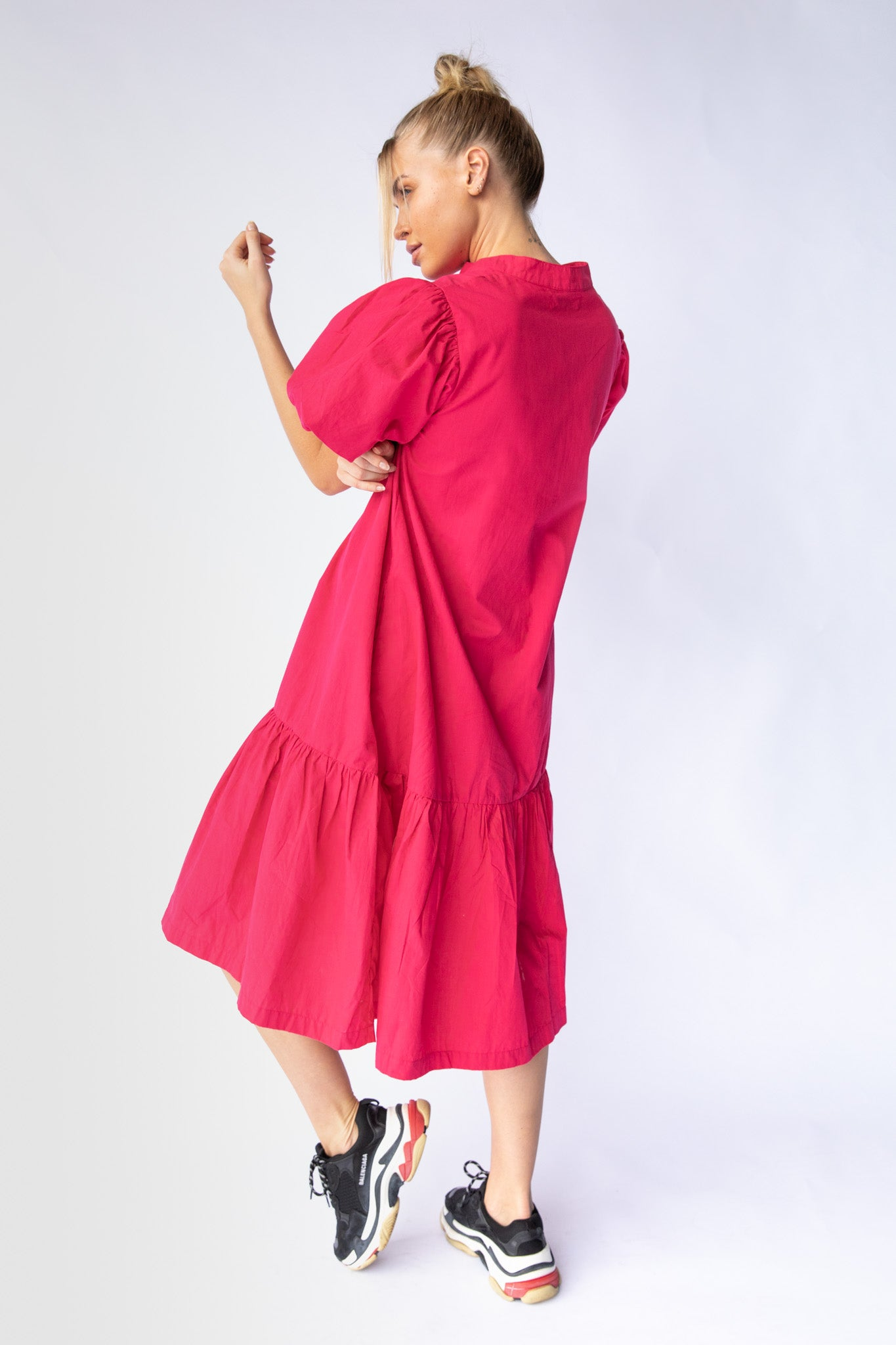 WALDEN DRESS - FUCHSIA PINK