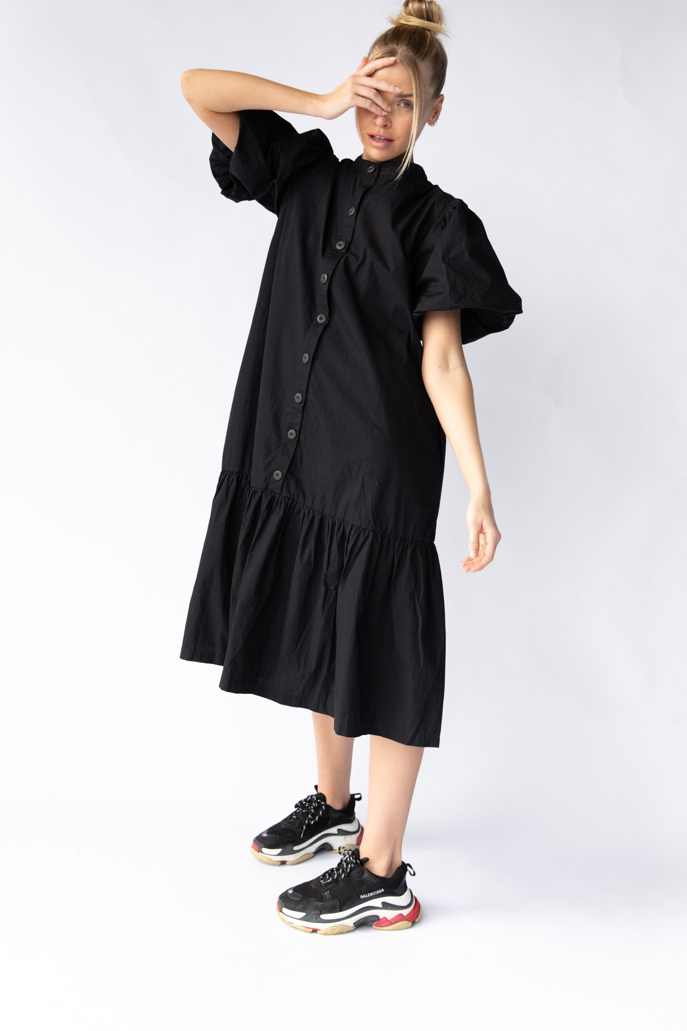 WALDEN DRESS - BLACK