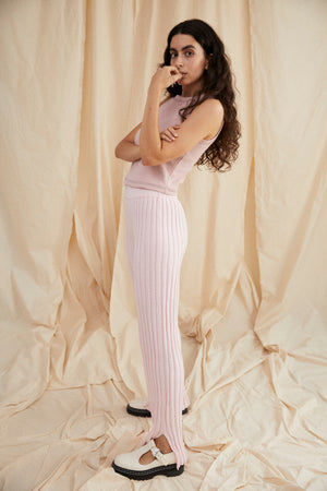 Yen knit pant - Light pink