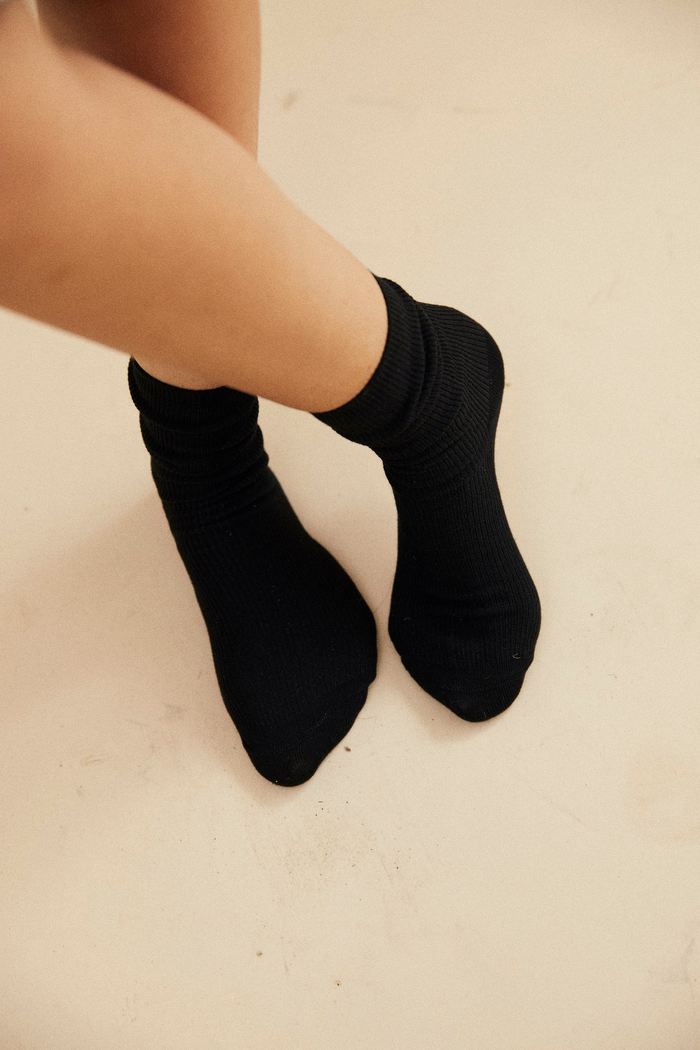 Lucille socks - Black.