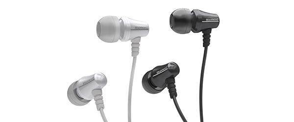 Brainwavz Jive Noise Isolating IEM Earphones w/ 3 Button Remote & Microphone now available in Black & White