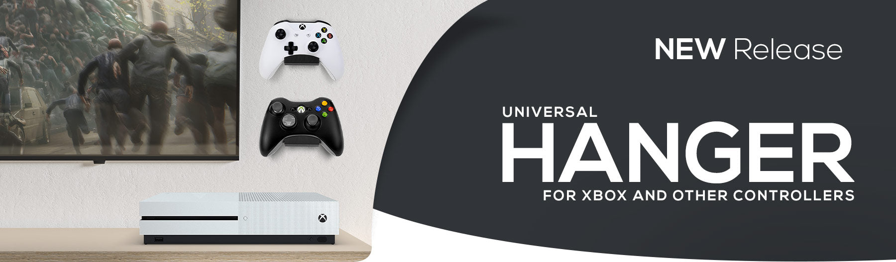 NEW - Universal Game Controller Hanger