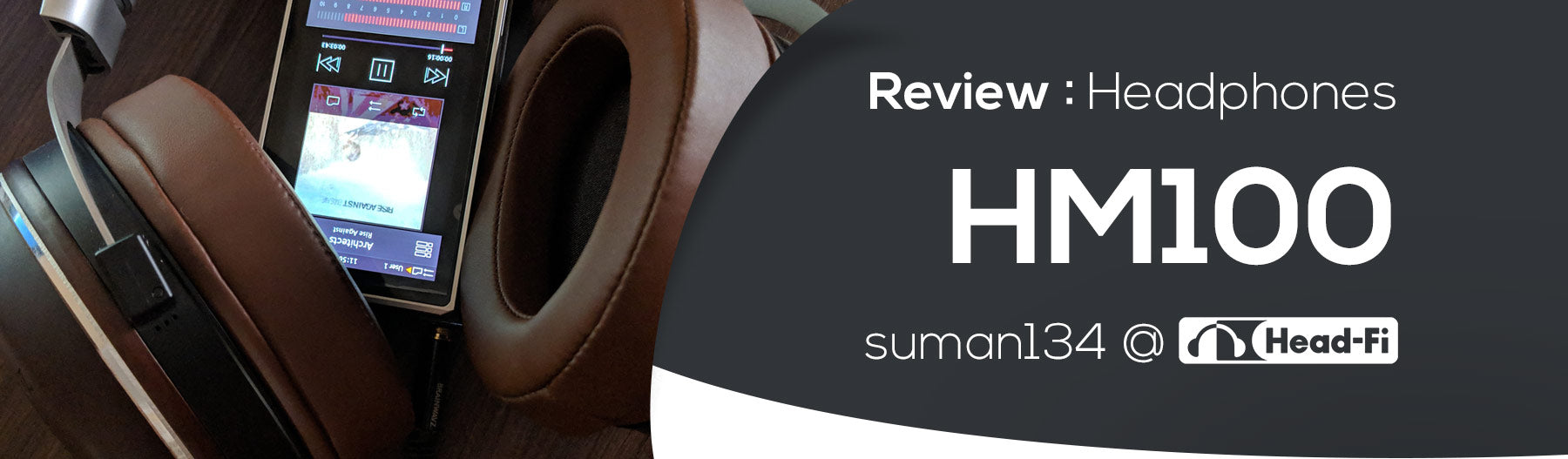 HM100  - Solid Review for our Wooden Headphones