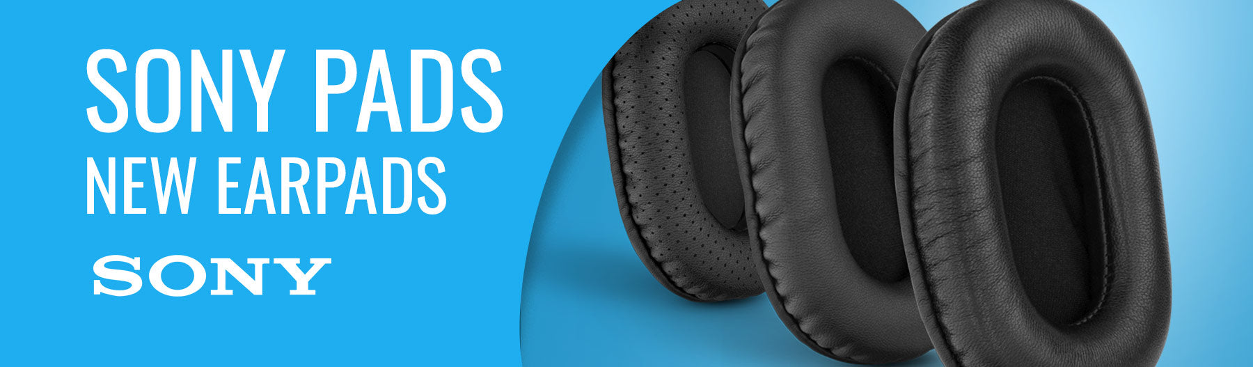 New SONY replacement earpads from Brainwavz