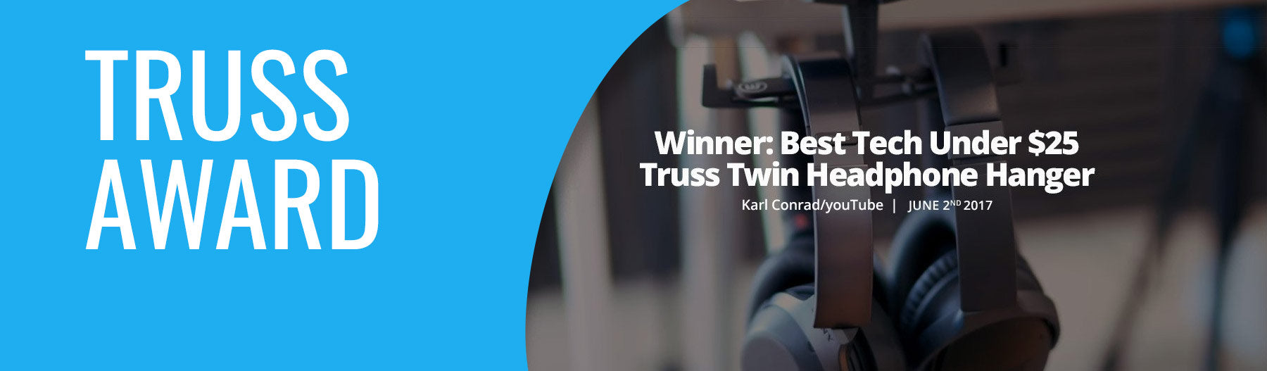 The Brainwavz Truss wins best buy award from Karl Conrad