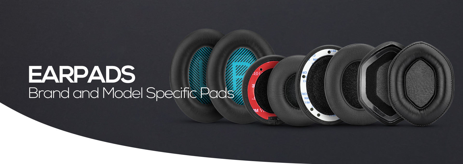 Brand and Model Specific Earpads