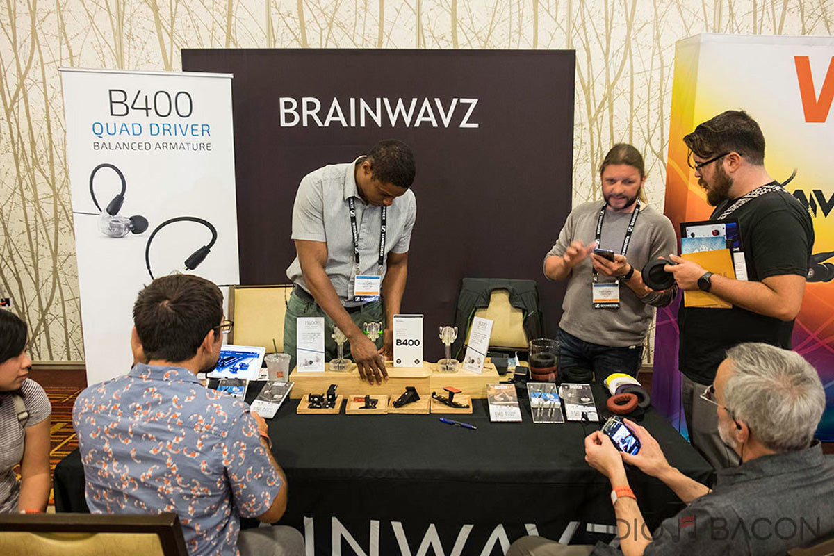 Brainwavz Booth - image from Audio Bacon