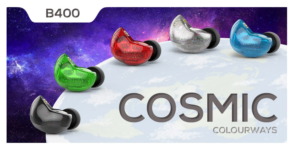Brainwavz B400 in all new cosmic colours
