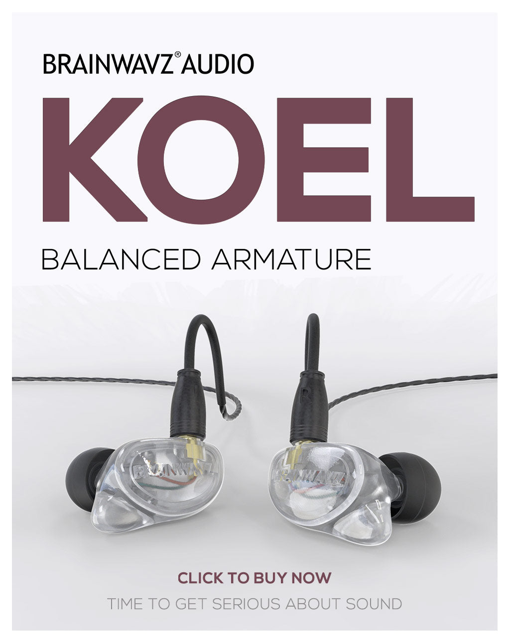 Brainwavz Koel earphones