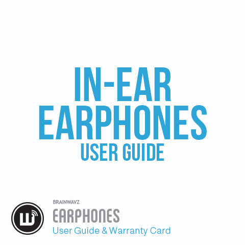 Earphone User Guide