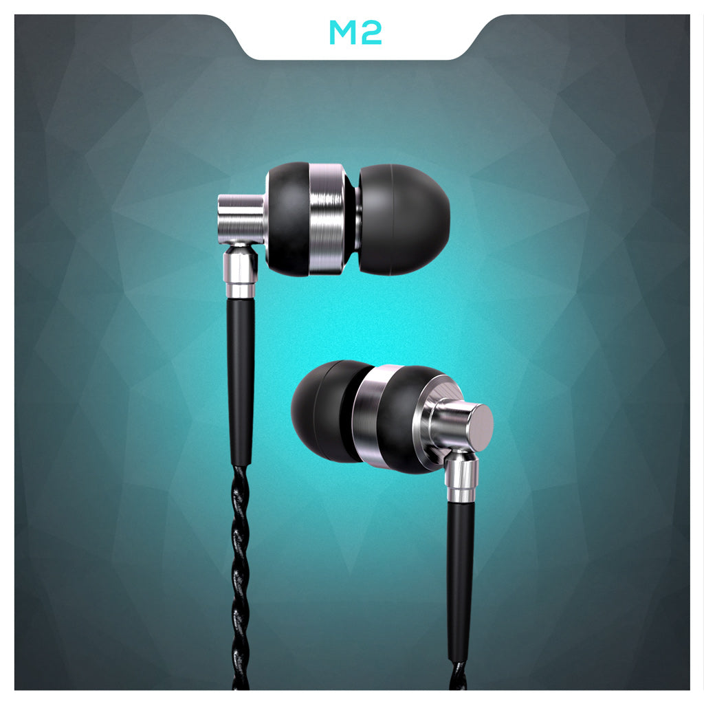 Brainwavz M2 Earbuds back in stock