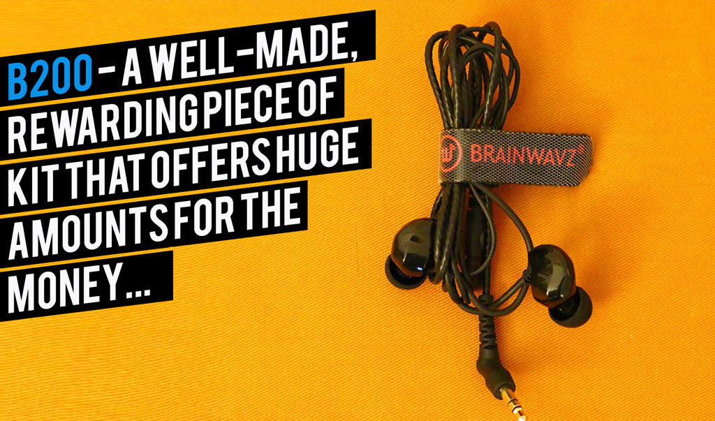 Brainwavz Mater Switch B200 Reveiw